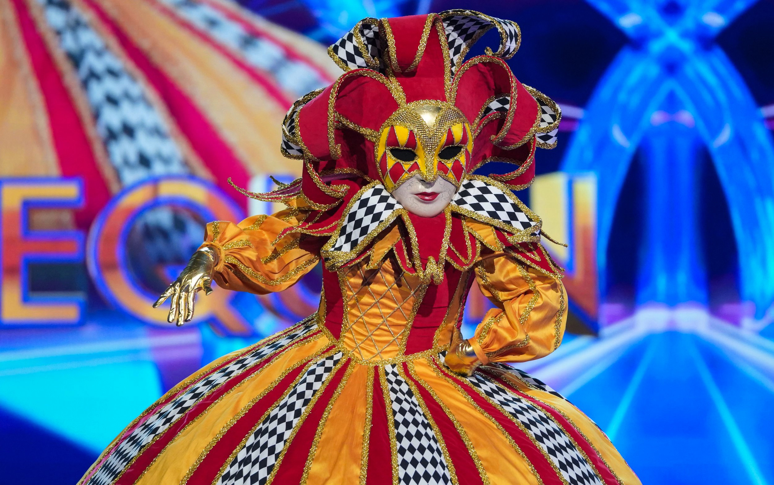 Who went home on The Masked Singer UK? Ninth contestant revealed as Harlequin leaves competition