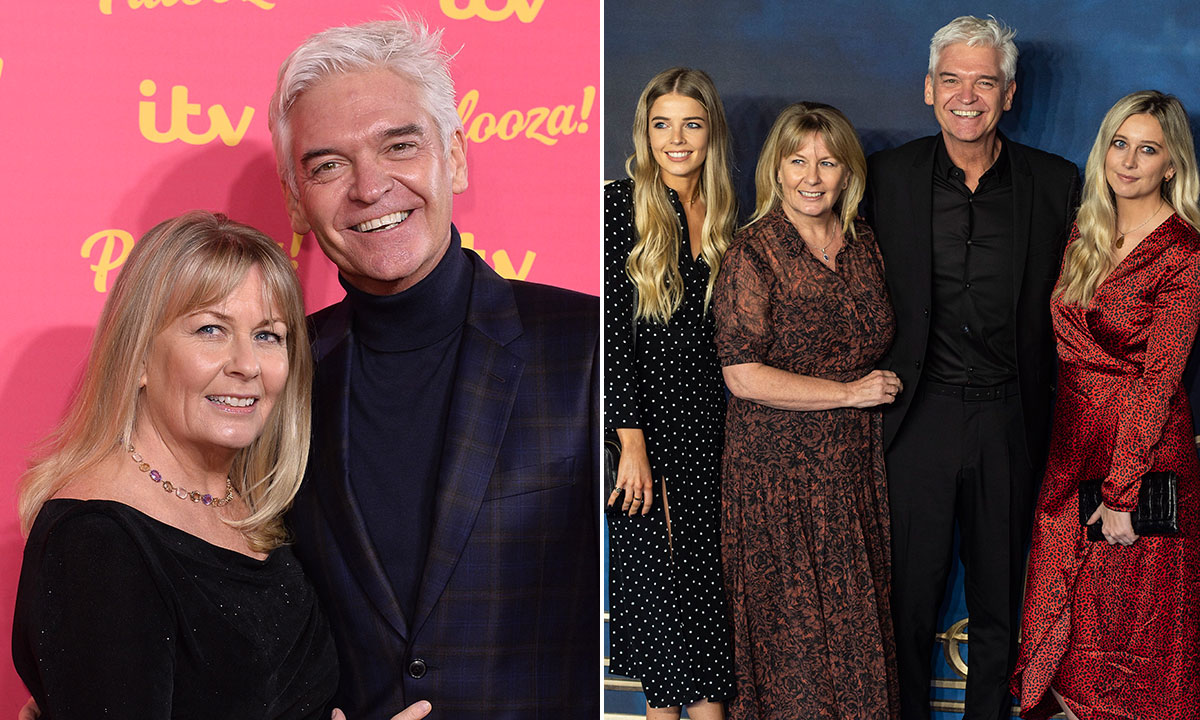 How Phillip Schofield's family have supported him since coming out as gay