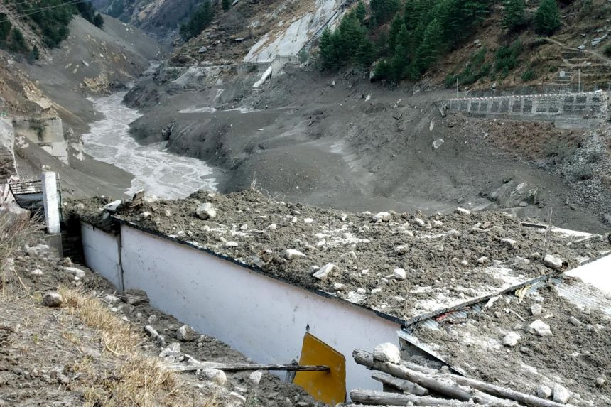 'Like a volcano had erupted': Villagers recount moments when Himalayan glacier bursts as critics blame dam projects