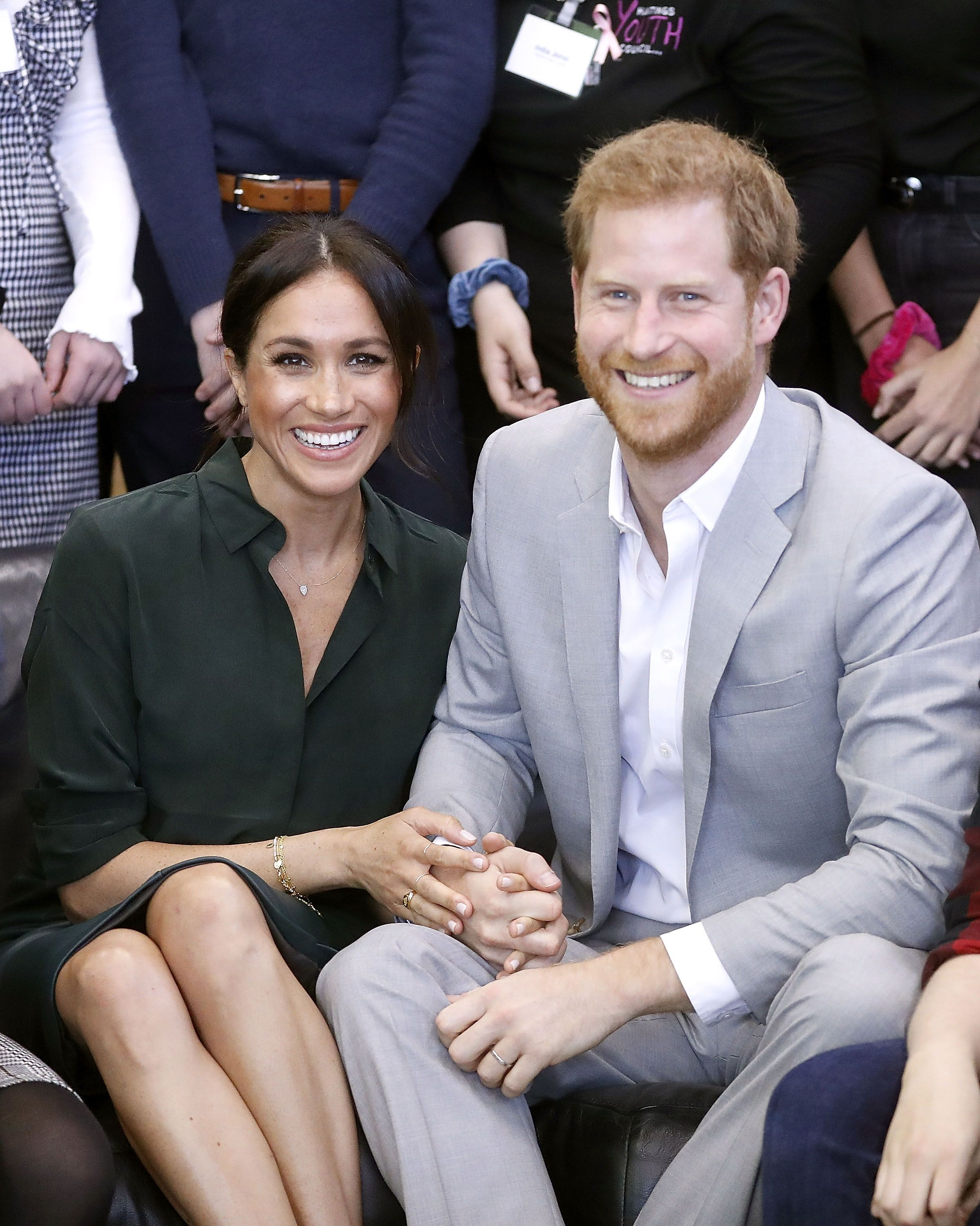 Meghan Markle and Prince Harry Sweetly Surprise a Group of Youth Poets for Black History Month