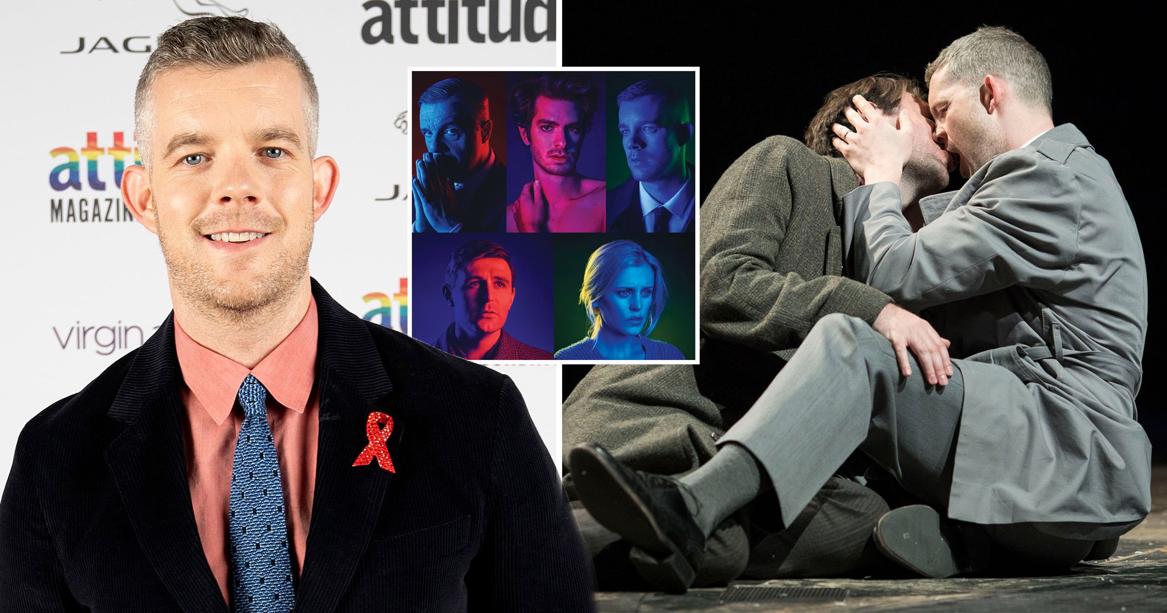 Russell Tovey's iconic play Angels In America streaming on National Theatre At Home