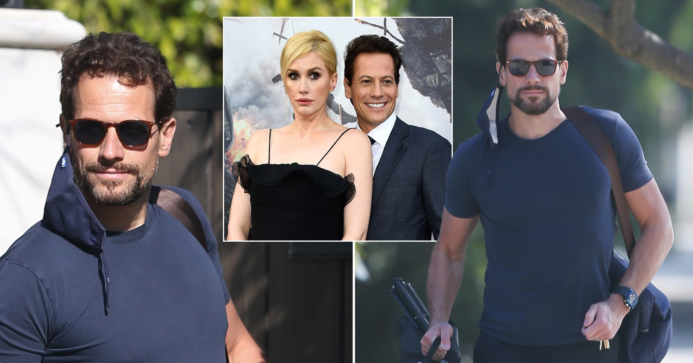 Ioan Gruffudd still wearing wedding ring after 'excruciating' split from wife Alice Evans