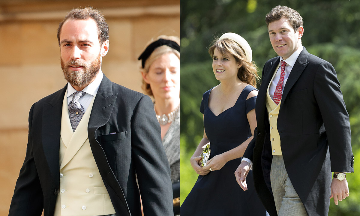 James Middleton reacts to Princess Eugenie's royal baby news