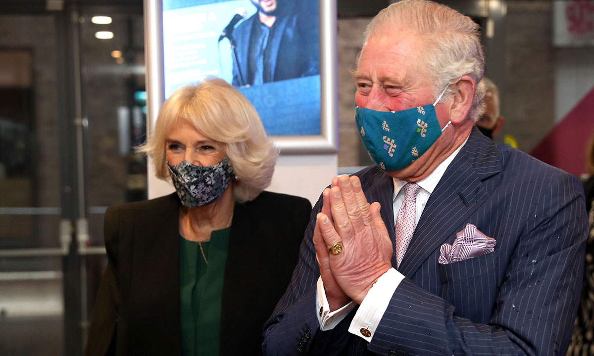 Prince Charles and Duchess Camilla receive their first COVID-19 vaccinations