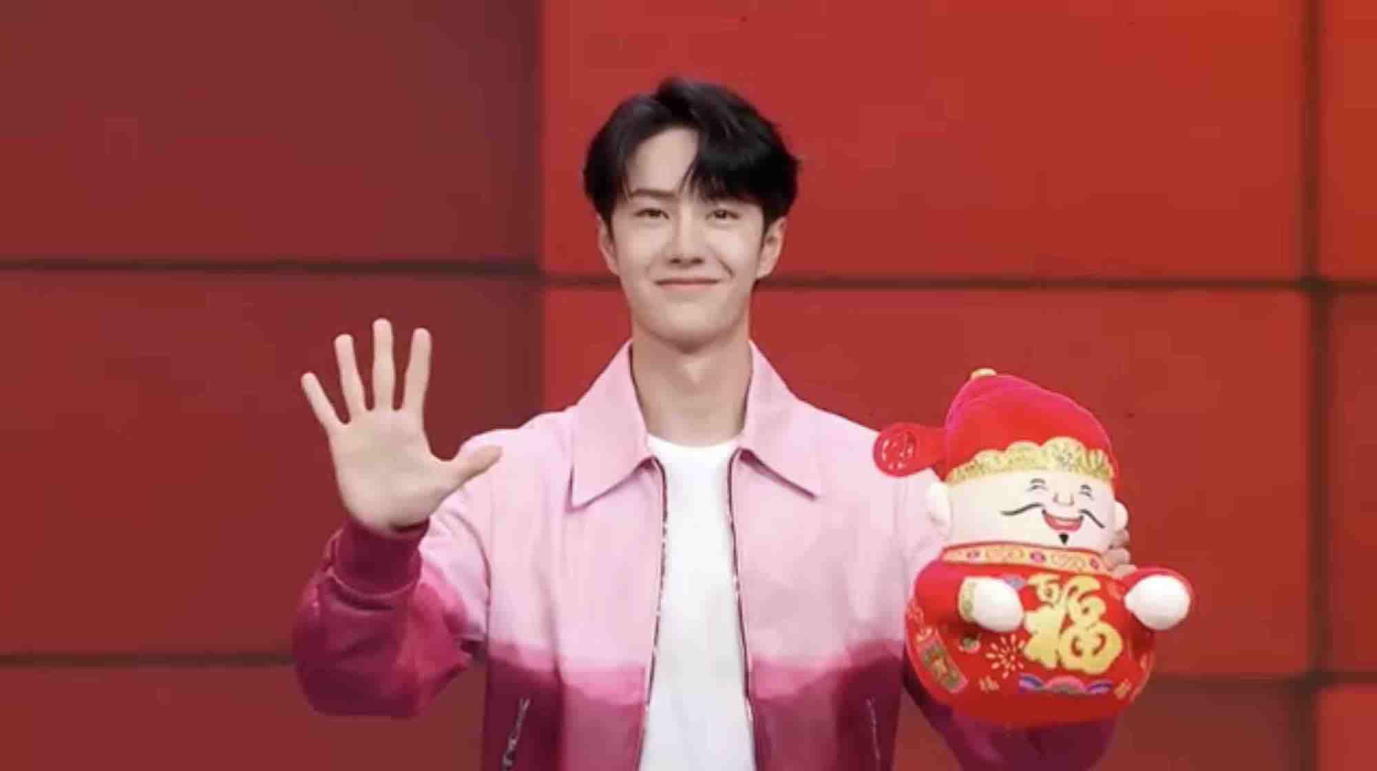 Wang Yibo Shares His Feelings on Attending His First CCTV Spring Festival Gala