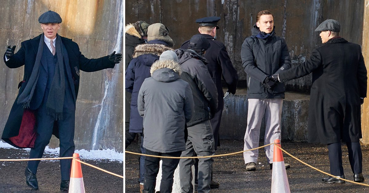 Peaky Blinders series 6: Tensions fly in new set pictures as Michael Gray explodes and Cillian Murphy's Tommy Shelby returns