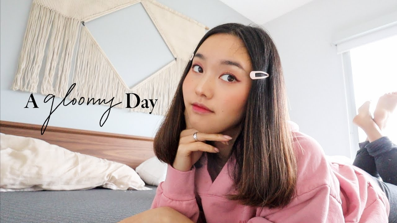 A Gloomy Day At Home | February Vlog