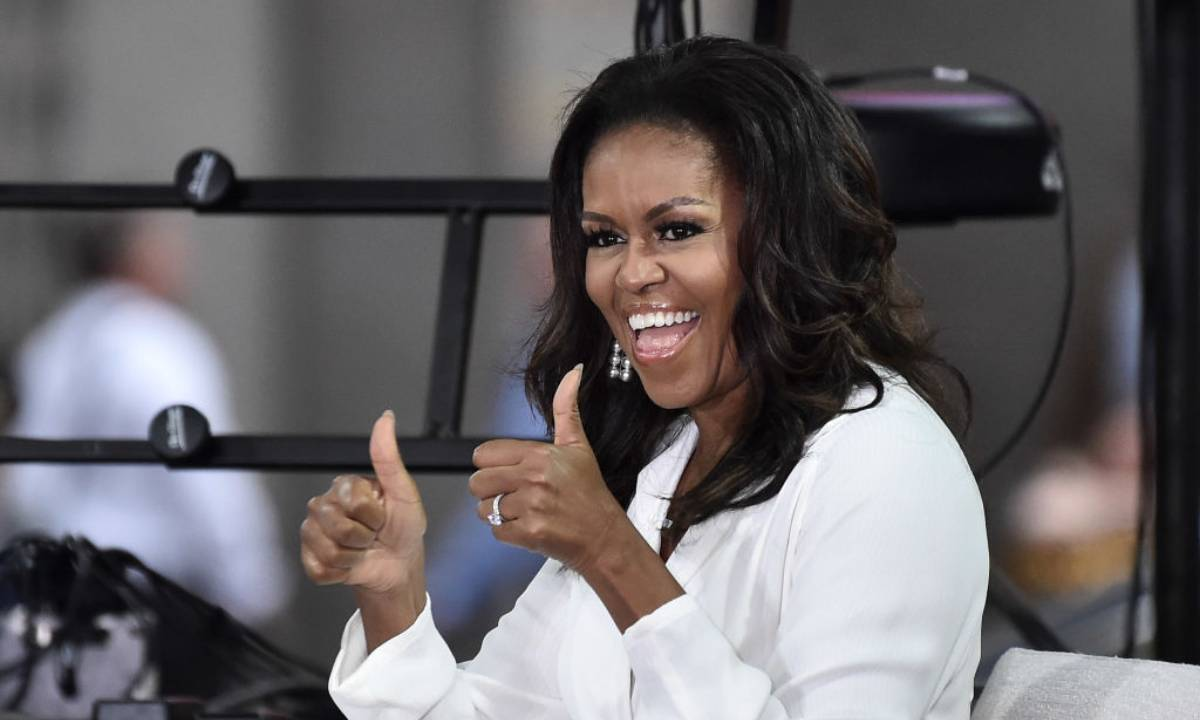 Michelle Obama celebrates big news with amazing photo - 'I can't wait'
