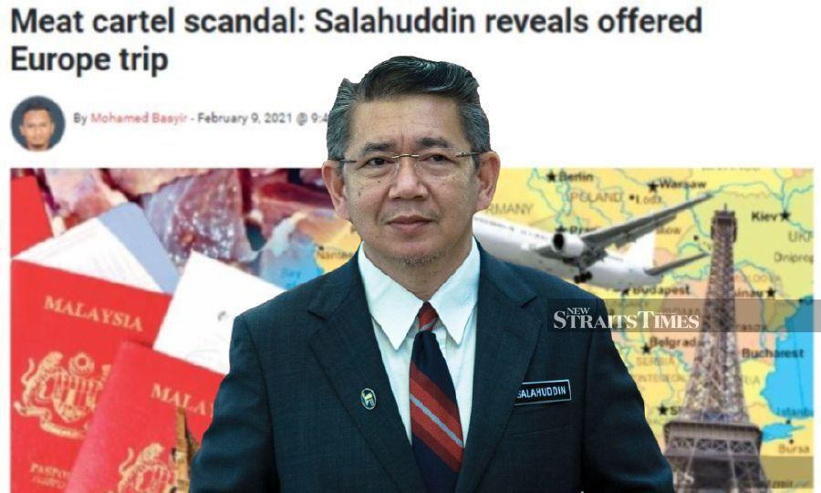 Meat cartel scandal: Salahuddin urged to file MACC report