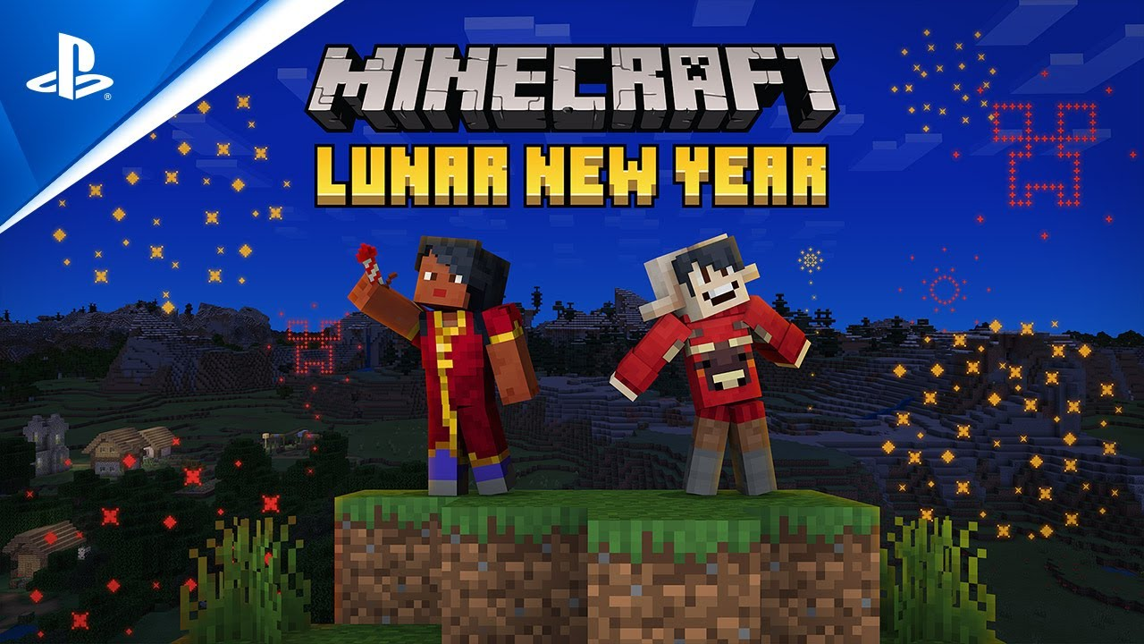 Lunar New Year comes to Minecraft Marketplace   PS5, PS4