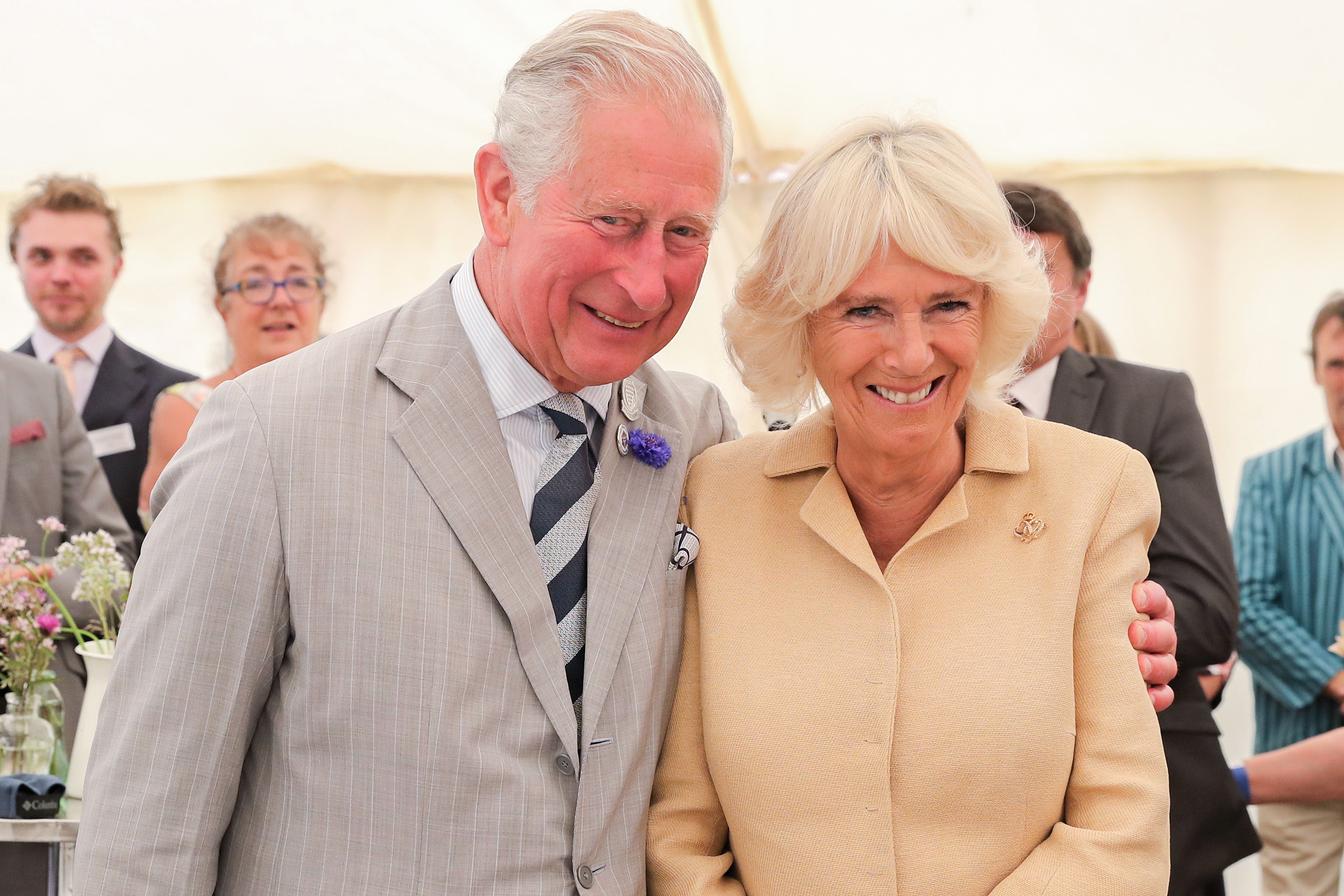 Prince Charles and Duchess Camilla Have Their First COVID-19 Vaccinations