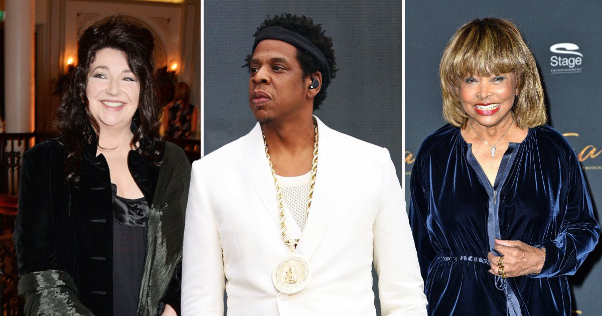 Jay-Z, Kate Bush and Tina Turner among 2021 nominees for Rock & Roll Hall of Fame