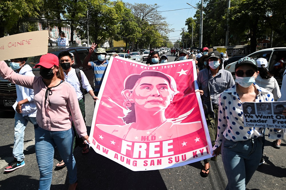 Suu Kyi's Myanmar court hearing postponed until April 1, says legal aide