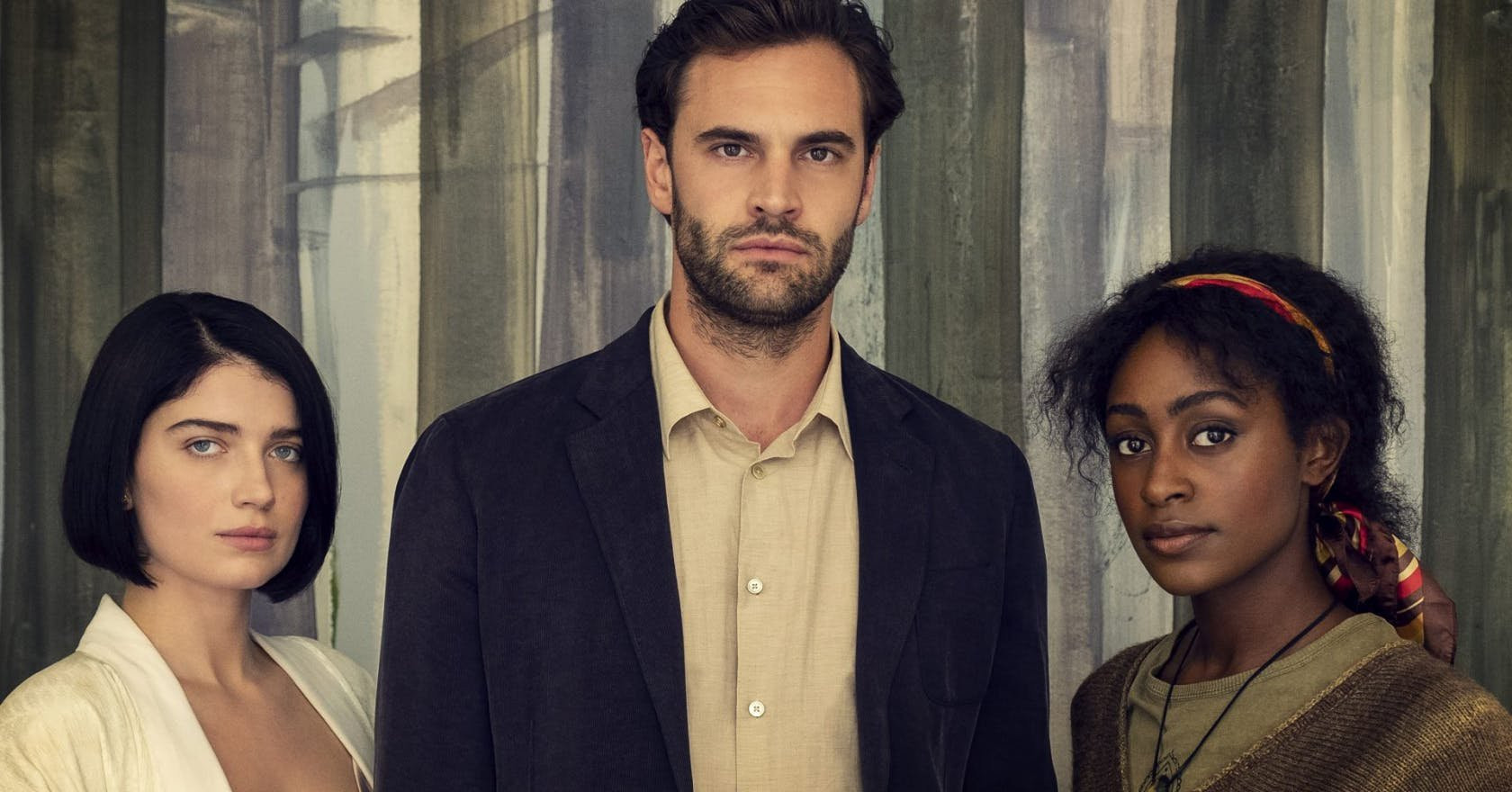 Tom Bateman and Simona Brown on being 'floored' by hot new Netflix thriller Behind Her Eyes: 'It twists and leaves you mangled'