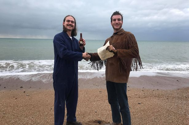 Message in bottle thrown out to sea 'to reach America' washes up 60 years later