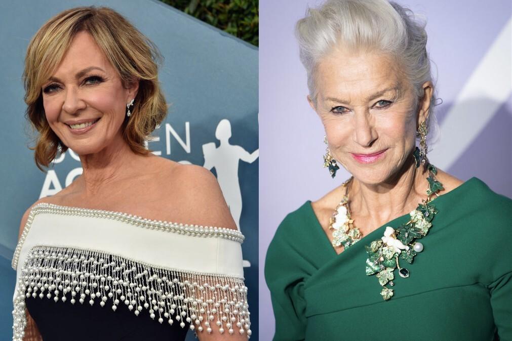 How Helen Mirren inspired Allison Janney to embrace her natural grey hair