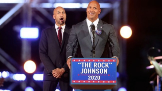 Dwayne 'The Rock' Johnson Is Running For President (On His Upcoming Show, 'Young Rock')