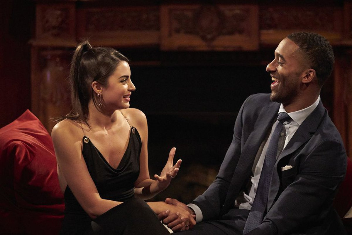 The Bachelor's Rachael Kirkconnell asks fans 'stop defending' her over racism scandal and vows to 'do better'