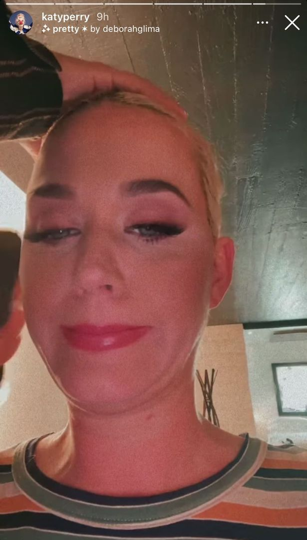Katy Perry unrecognisable after showing real hair as she admits 'everything is fake'