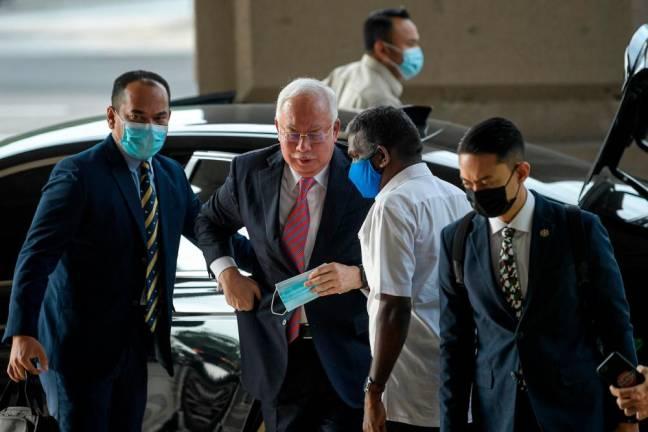 May 3: Management of Najib's RM27 million SRC case
