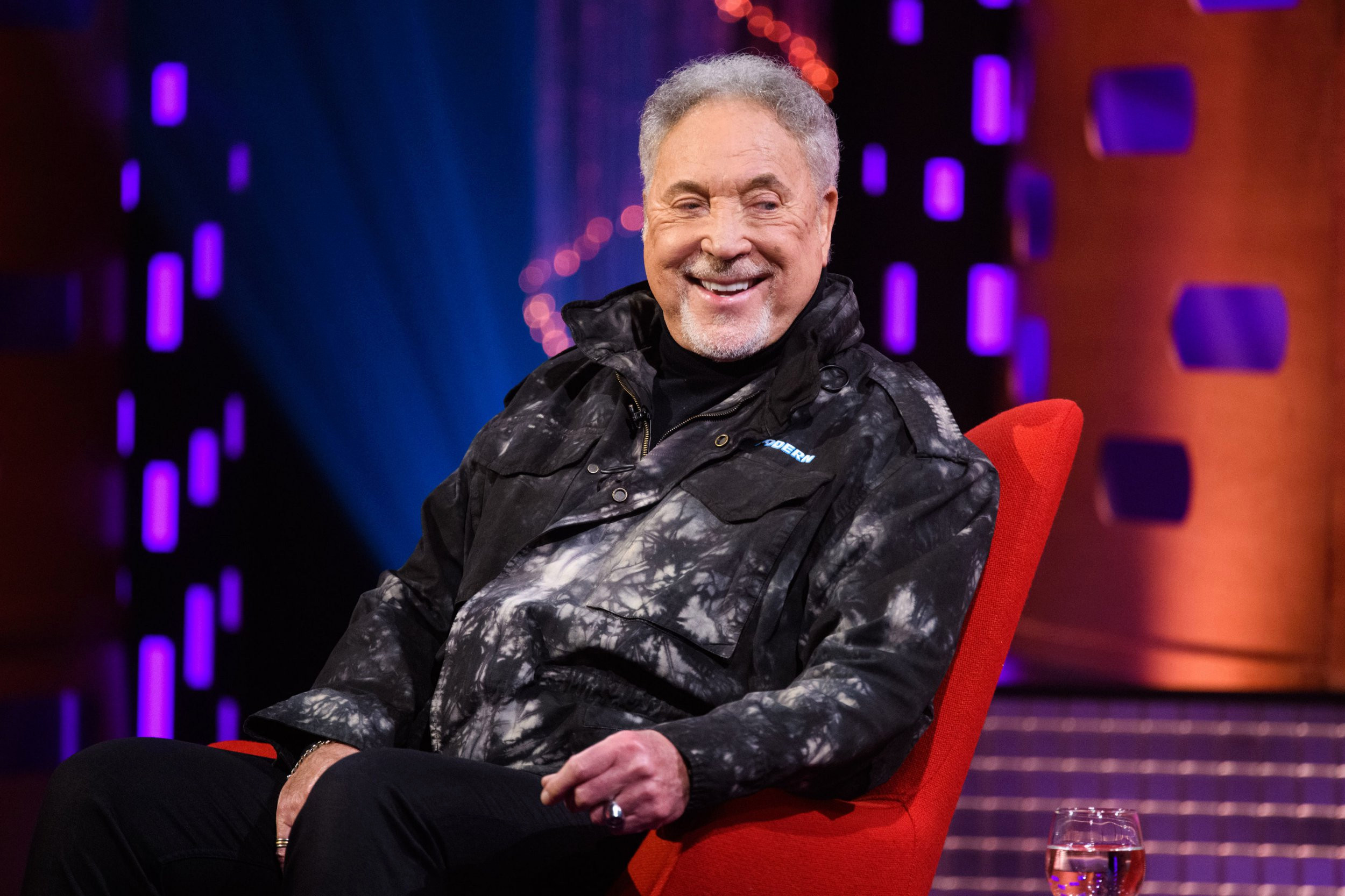 Sir Tom Jones reveals bizarre bat-like therapy technique he uses to stay in shape at 80
