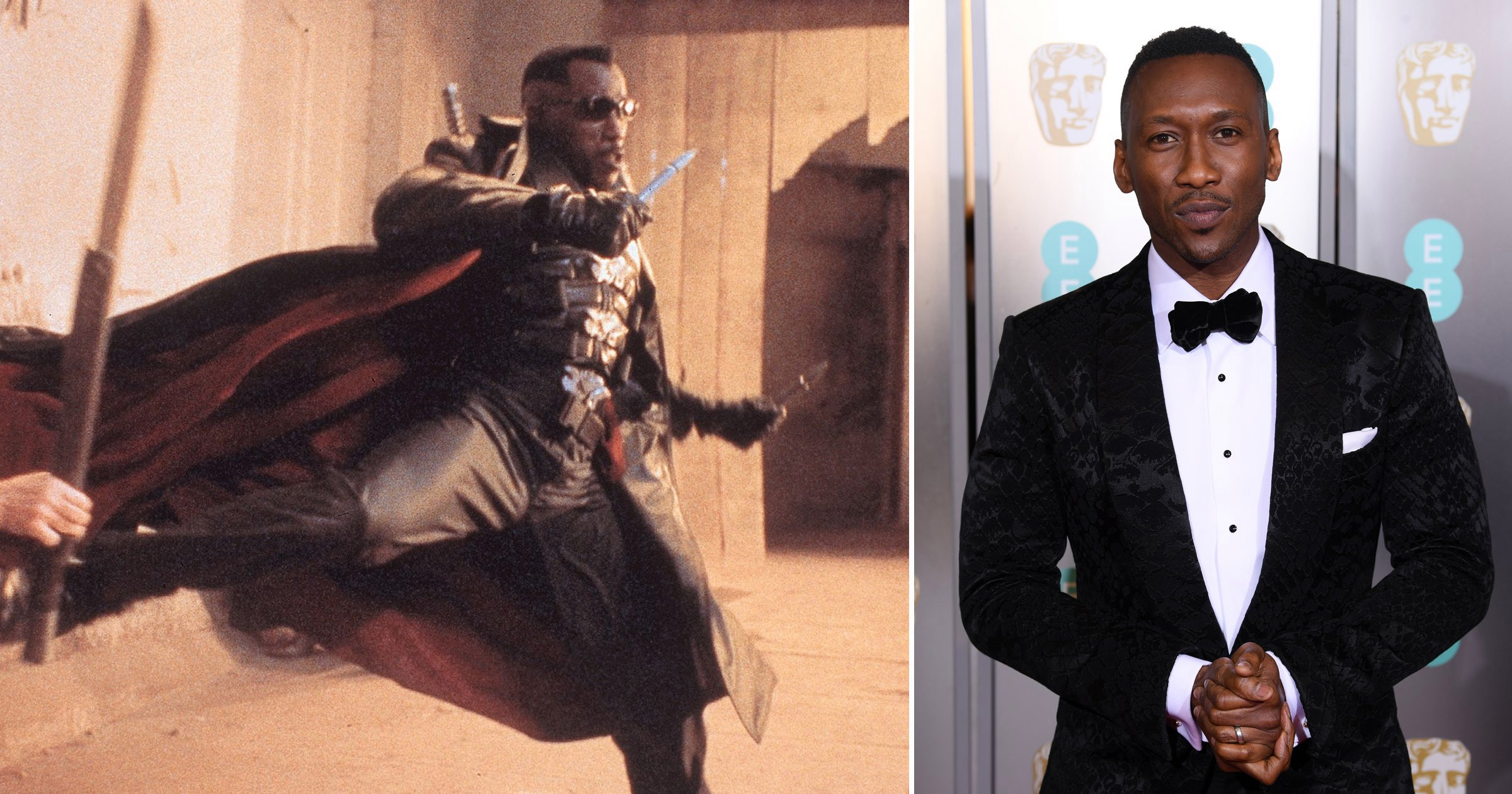Wesley Snipes gives advice to future Blade star Mahershala Ali: 'I got your back'