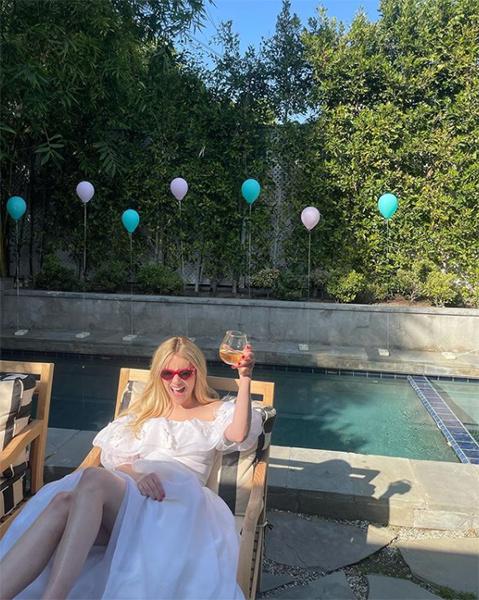 New mum Emma Roberts celebrates birthday with beautiful sunbathing snaps