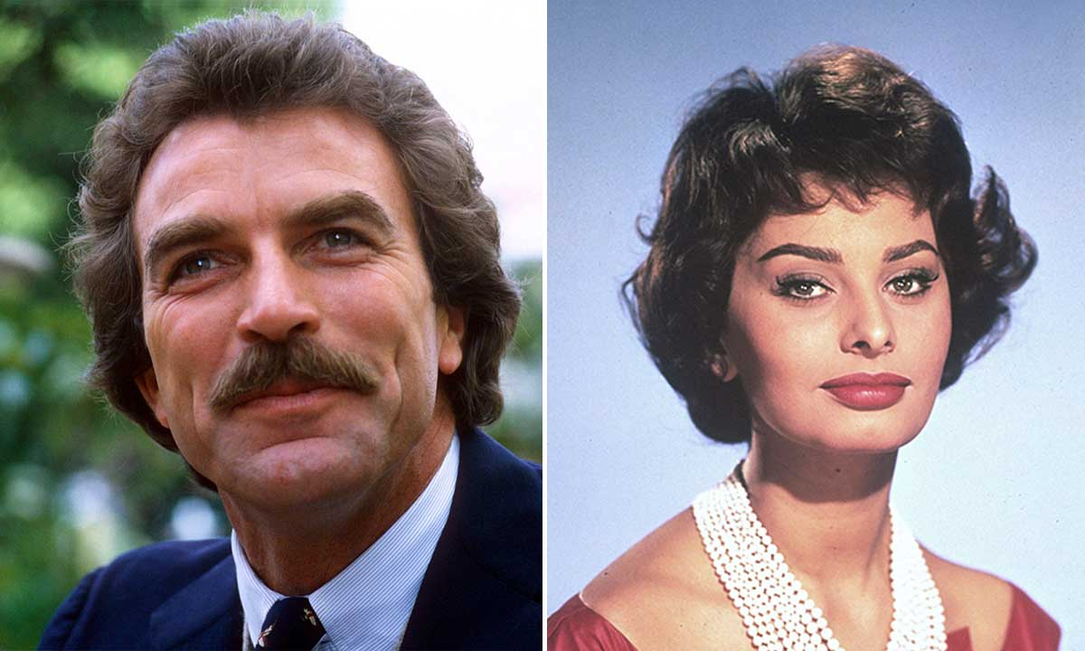 What really happened between Tom Selleck and Sophia Loren