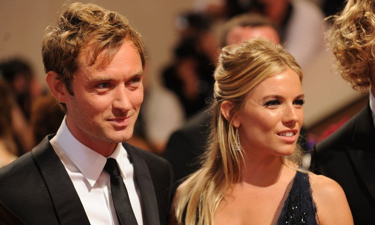 Sienna Miller and Jude Law's relationship timeline