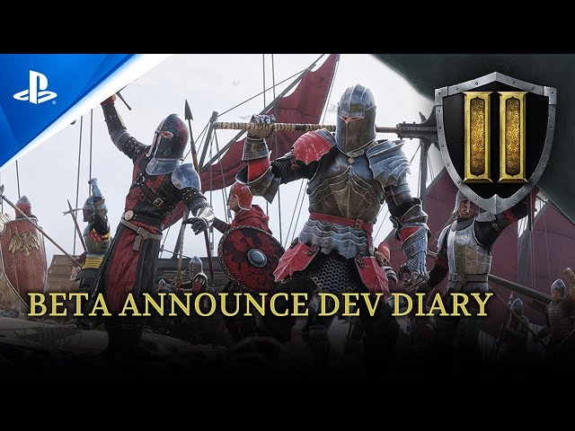 Chivalry 2 - Beta Announce Developer Diary #1 | PS5, PS4