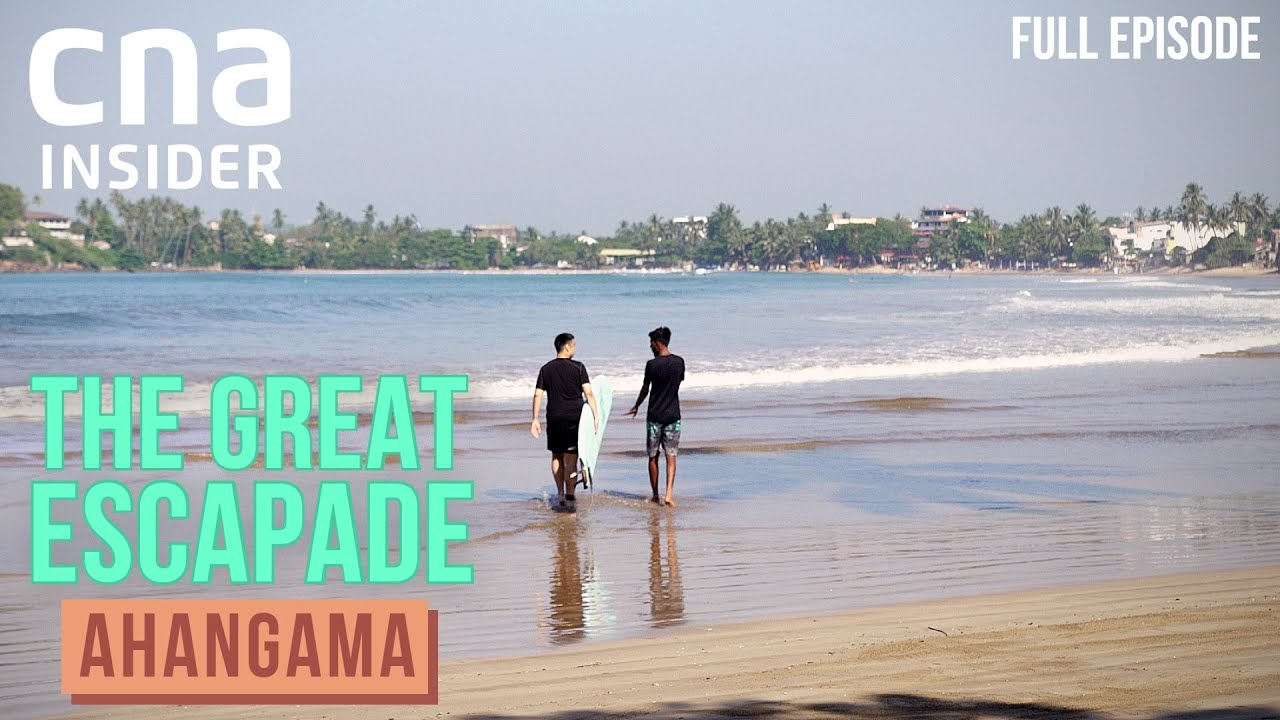 The Chef And The Sea: Surfing In Ahangama, Sri Lanka | The Great Escapade | Ep 1/4