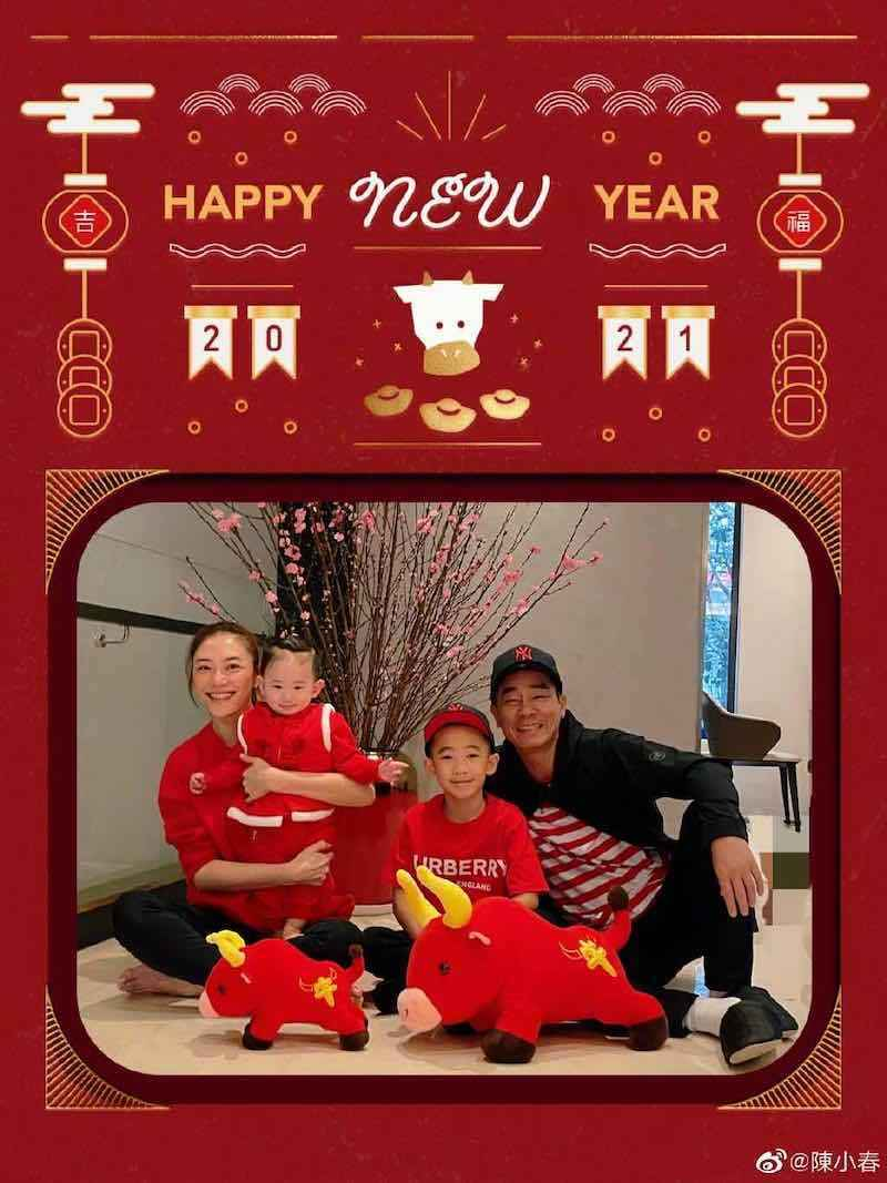 Jordan Chan and Cherrie Ying Reveal Second Son, Hoho, to Public for the First Time