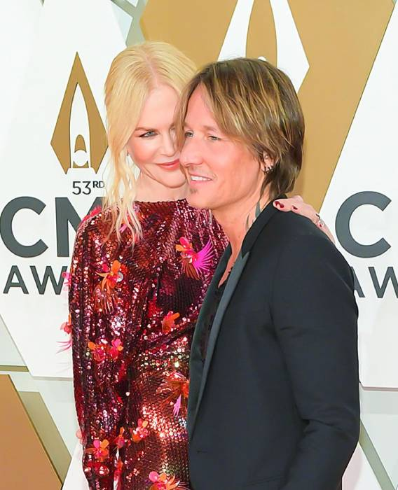 Nicole Kidman and Keith Urban stun fans with loved-up selfie to mark Valentine's Day