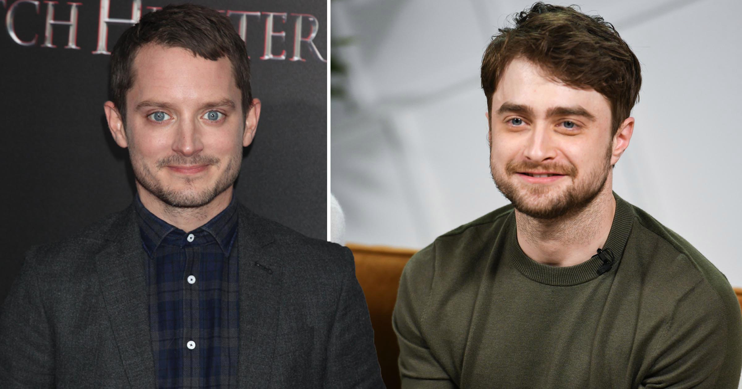 Elijah Wood thinks it would be 'really fun' playing 'lookalike' Daniel Radcliffe's brother