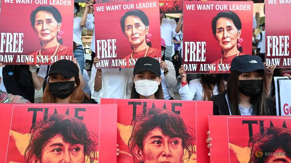 Myanmar's Aung San Suu Kyi detained on remand until Feb 17, says lawyer