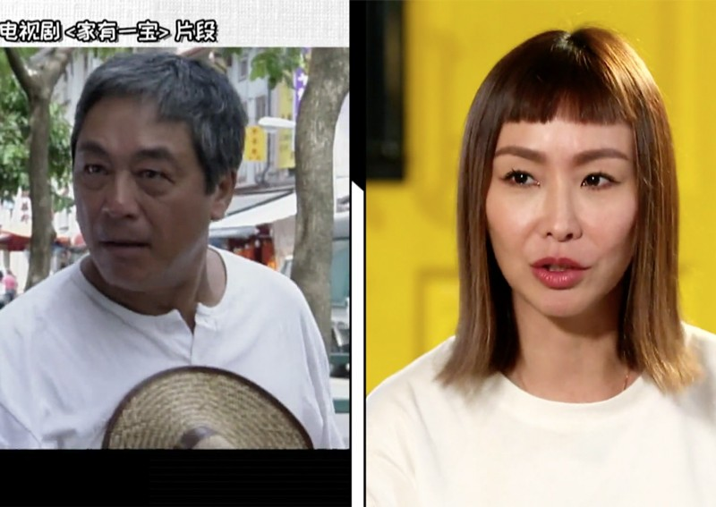 Ann Kok once disliked Hong Kong actor Kenneth Tsang because he smacked her head without telling her