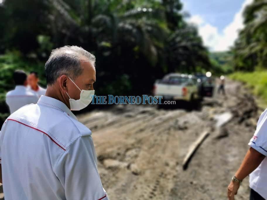 Penguang refutes allegations of no response to complaint on damaged road at Long Lapok-Ulu Tinjar