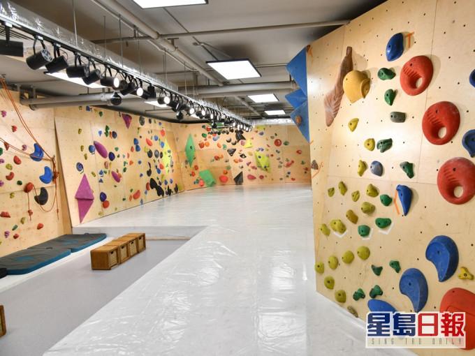 体育康乐设施明起重开 攀石中心做足防疫冀毋须再关闭