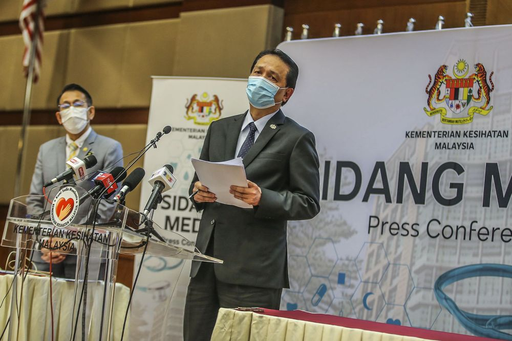 Dr Noor Hisham: Public health restrictions will not be relaxed until herd immunity achieved
