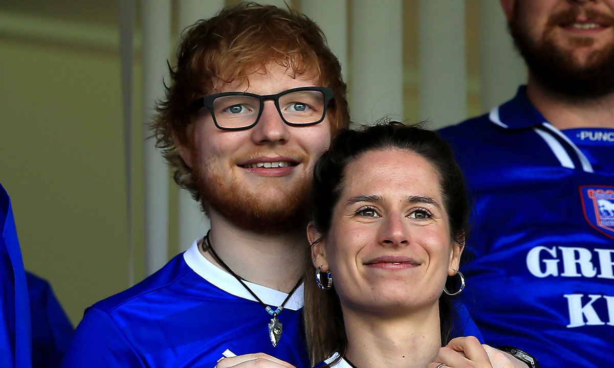 Ed Sheeran shares glimpse inside 30th birthday with wife and daughter in extremely rare post