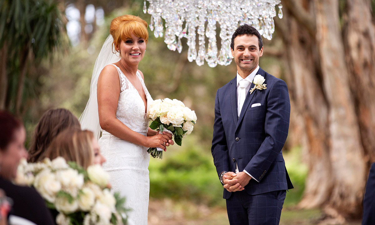 Married at First Sight's Jules and Cameron set record straight on rumours they knew each other before show