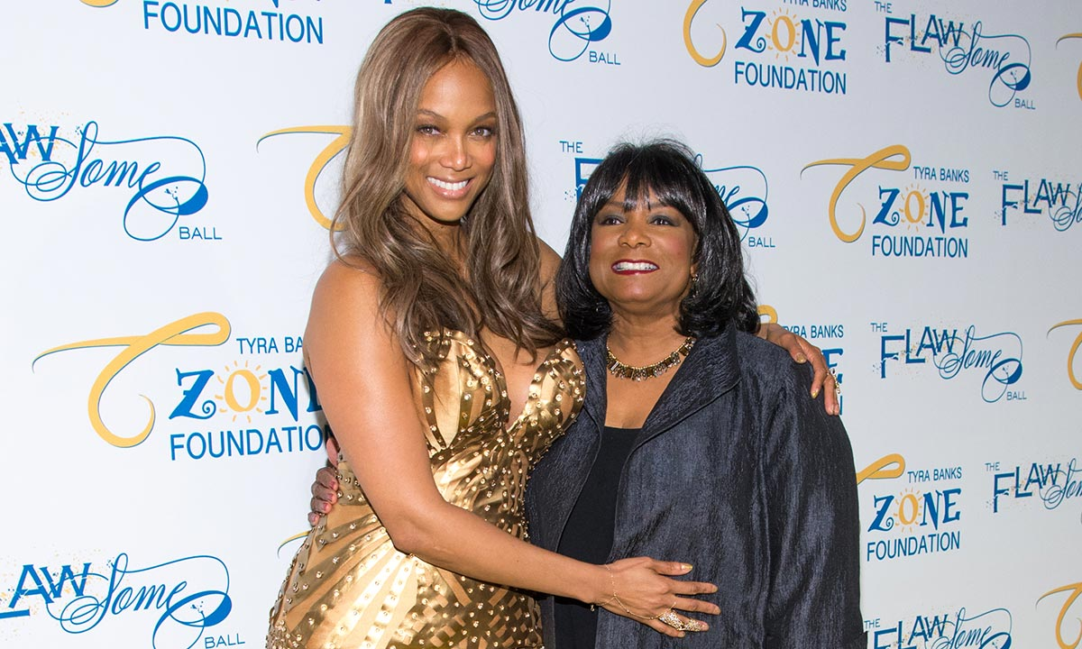 Tyra Banks shares incredibly sweet video with her glamourous mum