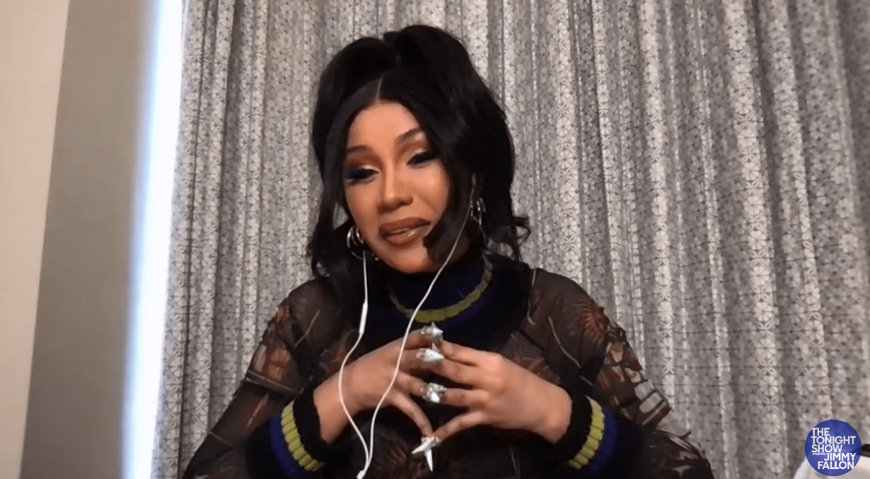 Cardi B's poop metaphor behind title of new track Up will floor you just like it did Jimmy Fallon