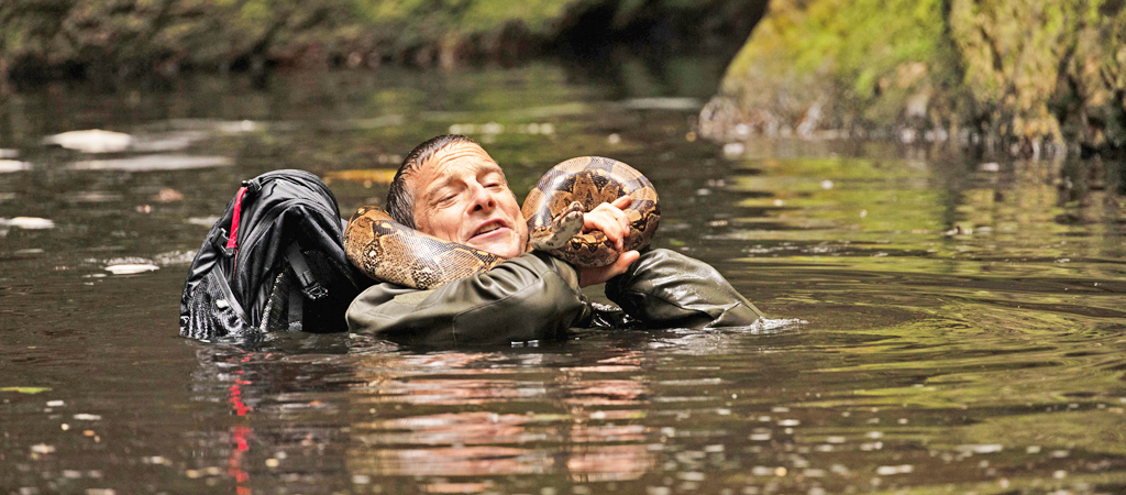 Bear Grylls Is Torturing Himself For Your Amusement In Another Netflix 'You Vs. Wild' Interactive Special
