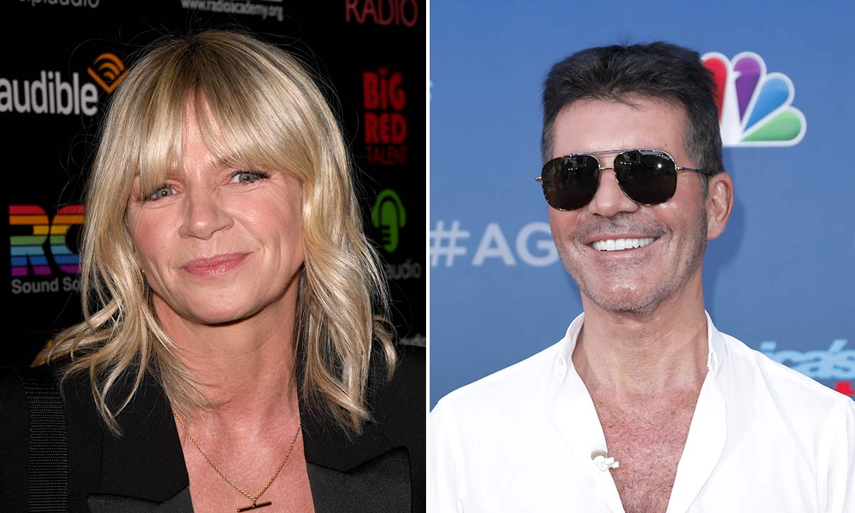 Zoe Ball's intimate photo with Simon Cowell has fans asking questions