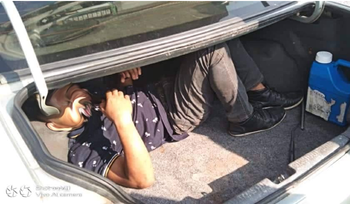 Kedah Trio Caught After Police Found One Hiding In Car Boot