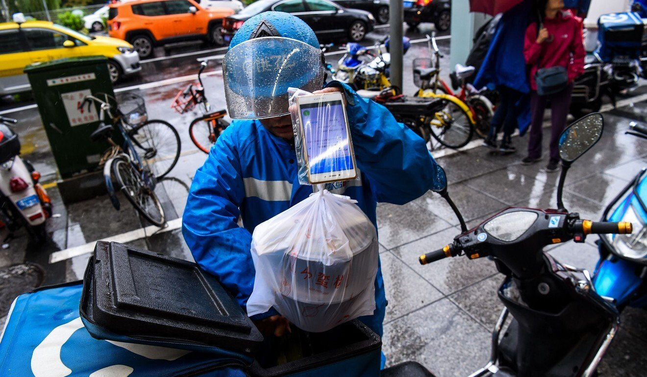 Chinese food delivery giant Ele.me apologises for setting drivers 'impossible' targets for Lunar New Year bonuses