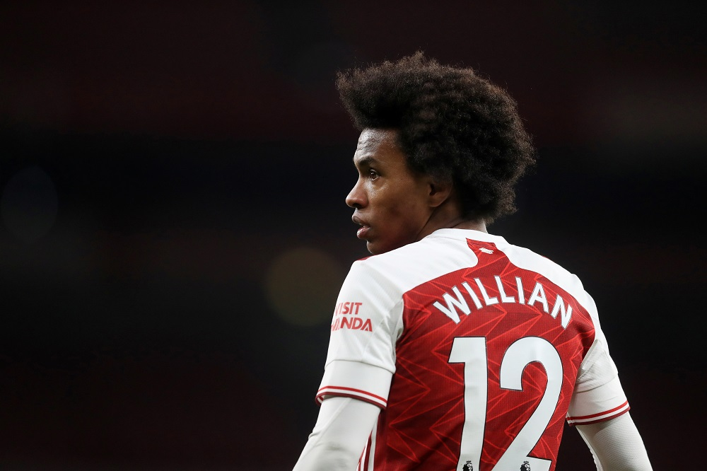Willian leaves Arsenal ahead of move to Corinthians