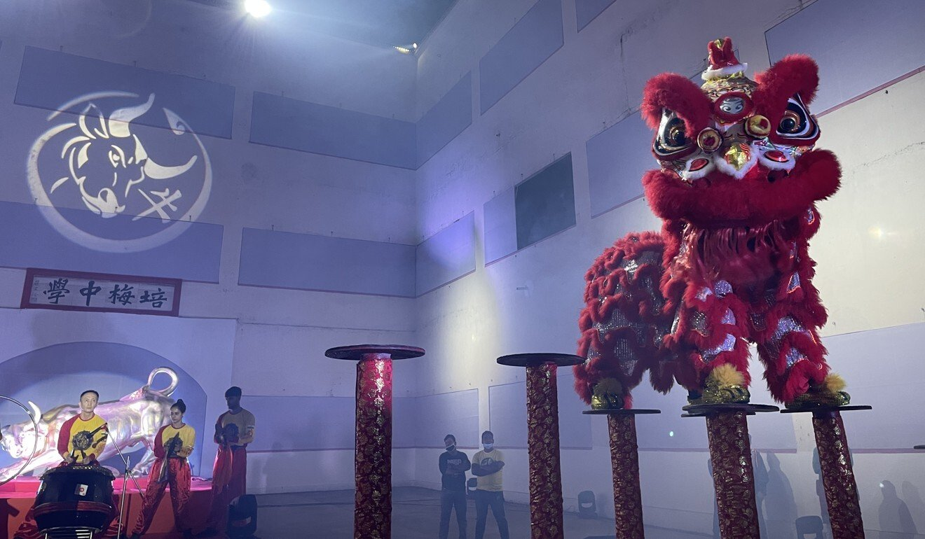 Save the last lion dance: in India's Kolkata, ethnic Chinese teacher strives to keep traditional art form alive