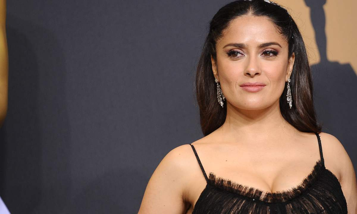 Salma Hayek wows in lace as she celebrates special family occasion with stepdaughter